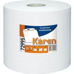 Czyściwo przemysłowe celulozowe w dużej rolce 380 m Karen Czyściwo papierowe serwisowe Karen 72995