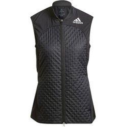 adidas Adizero Vest Women, czarny M 2021 Zimowe kurtki i kamizelki do biegania