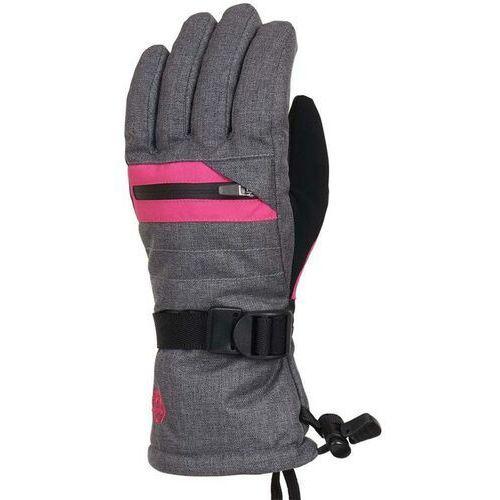 Rękawiczki dziecięce, rękawice 686 - Youth Heat Insulated Glove Grey Mlng/Lilac Rose (LLAC) rozmiar: S