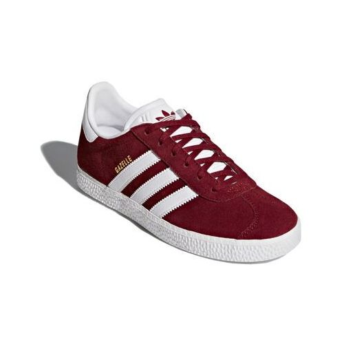 Obuwie sportowe dziecięce, adidas Originals GAZELLE Tenisówki i Trampki collegiate burgundy/footwear white
