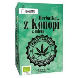 Herbata z konopi z mięta 20x0,8g