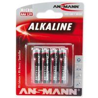 Baterie, Ansmann Bateria, 4xAAA Blister, 1.5V (5015553) Darmowy odbiór w 21 miastach!