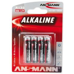 Ansmann Bateria, 4xAAA Blister, 1.5V (5015553) Darmowy odbiór w 21 miastach!