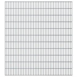 Panel ogrodzeniowy 2008x2230 mm, szary