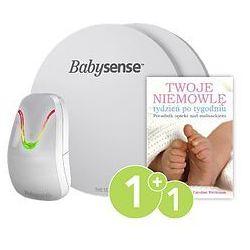 Monitor oddechu dla niemowląt BABYSENSE 7 + Poradnik opieki nad maluszkiem tydzień po tygodniu