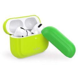 PURO ICON Fluo etui do słuchawek Airpods Pro (Fluo Yellow + Fluo Green Cap)