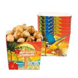 """Pudelka na popcorn, przekąski """"hawajska Plaża"""""""
