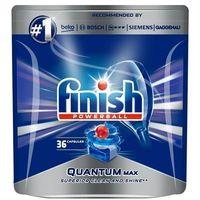 Kostki do zmywarek, FINISH Powerball Quantum Max tabletki do mycia naczyń w zmywarkach 36szt