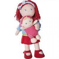 Lalki dla dzieci, HABA Lalka Rubina z dzieckiem 301525