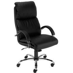 Fotel biurowy Nadir steel02 chrome z mechanizmem Tilt Nowy Styl