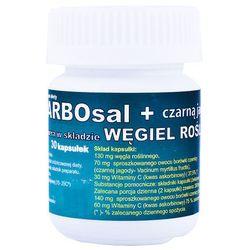 Carbosal+carbo z czarną jagodą x 30 kaps