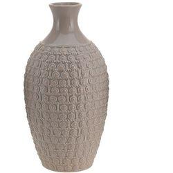 Ceramiczny wazon na kwiaty, dekoracje - wysoki, 28 x Ø 15 cm