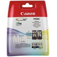 Tusze do drukarek, CANON Tusz PG-510/CL-511=PG510/CL511=2970B010, Zestaw Bk+Kolor, PG-510+CL-511- wysyłka dziś do godz.18:30. wysyłamy jak na wczoraj!