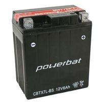 Akumulatory do motocykli, Akumulator motocyklowy POWERBAT CBTX7L-BS / YTX7L-BS 12V 6Ah 100A P+