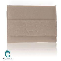 Mały portfel damski z miękkiej skóry cielęcej Valentini 154-263