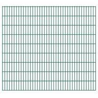 Przęsła i elementy ogrodzenia, Panel ogrodzeniowy 2008x1830 mm, zielony