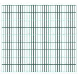 Panel ogrodzeniowy 2008x1830 mm, zielony
