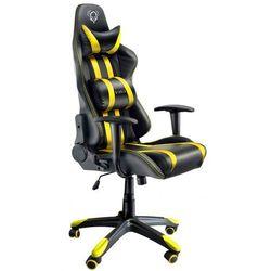 Fotel DIABLO X-One Czarno-żółty + Zamów z DOSTAWĄ JUTRO! + DARMOWY TRANSPORT!