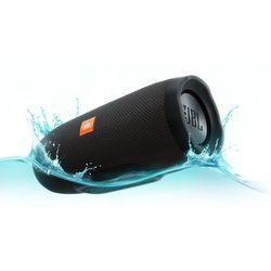 Głośnik mobilny JBL Charge 3 Czarny Wodoodporny IPX7 + DARMOWY TRANSPORT!