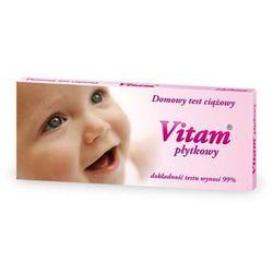 VITAM płytkowy test ciążowy 1szt.
