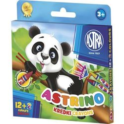 Kredki świecowe Astra Astrino 316115001 14kol.
