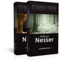 Książki kryminalne, sensacyjne i przygodowe, Człowiek bez psa Część 1 i 2 - Hakan Nesser (opr. twarda)