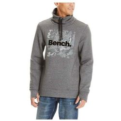 bluza BENCH - Sweat High Neck Dark Grey Marl Winter (MA1053) rozmiar: M
