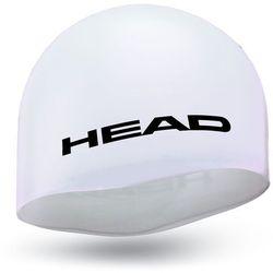 Head Silicone Moulded Czapka, white 2019 Czepki pływackie Przy złożeniu zamówienia do godziny 16 ( od Pon. do Pt., wszystkie metody płatności z wyjątkiem przelewu bankowego), wysyłka odbędzie się tego samego dnia.