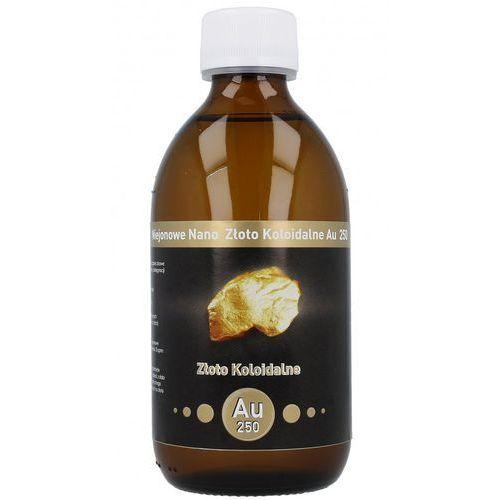 Pozostała pielęgnacja, Niejonowe Nano Złoto koloidalne AU 250 - 25 ppm 300 ml Vitacolloids