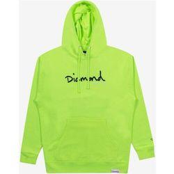 bluza DIAMOND - Shimmer Og Scrpit Hoodie Safety Green (SFGN) rozmiar: L