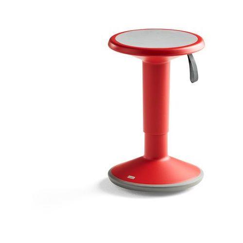 Pozostałe meble biurowe, Stołek ergonomiczny UP, czerwony