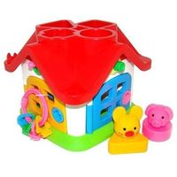 Pozostałe zabawki, Dydaktyczny domek w siatce - DARMOWA DOSTAWA OD 250 ZŁ!!