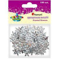 Pozostałe artykuły szkolne, Dodatek dekoracyjny Craft-fun kwiaty kryształki 17mm (DG012) % BPZ