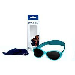 Okulary przeciwsłoneczne dzieci 0-2lat RETRO BANZ - Aqua