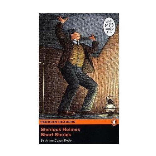 Książki do nauki języka, Sherlock Holmes short stories with CD level 5 (opr. miękka)