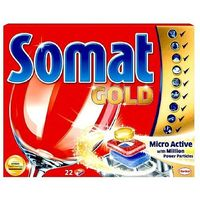 Kostki do zmywarek, Tabletki do zmywarki Somat Gold 24szt.