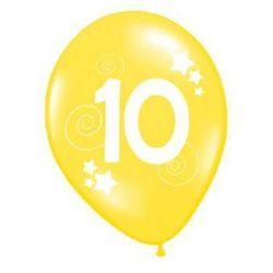 Balony z nadrukiem 10 - 30 cm - 12 szt.