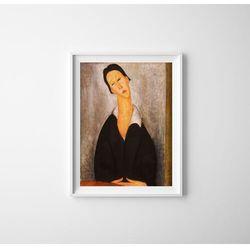 Plakaty w stylu retro Plakaty w stylu retro Amedeo Modigliani Portret polskiej kobiety
