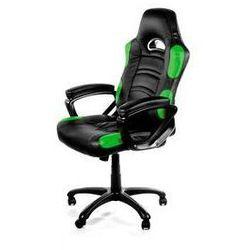 Fotel gamingowy Arozzi ENZO (ENZO-GN) Czarna/Zielona