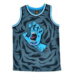 podkoszulka SANTA CRUZ - YOUTH SCREAMING HAND B/BALL VEST BLACK (BLACK)