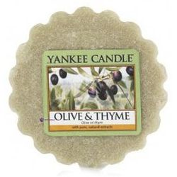 Yankee Candle Classic Wax Melt wosk zapachowy Olive & Thyme 22g
