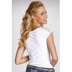 Tosca koszulka bawełniana damska Eldar Romantica Active Biała - Biały Listopad (-6%)