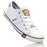 Damskie obuwie sportowe, Sneakersy Mustang bonprix biały