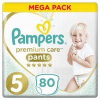Pieluchy jednorazowe, Pampers pieluchomajtki Premium Care Pants 5 (12-17 kg) Mega Box 80 ks