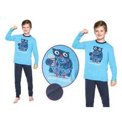 Piżama dziecięca BEN: błękit/granat