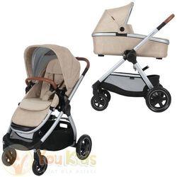 Od YouKids Adorra Maxi-Cosi 3w1 gondola Oria + CabrioFix 0-13 kg - wózek głęboko-spacerowy nomad sand