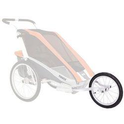 Thule JoggingSet CX 2 Sitzer Akcesoria do przyczepki rowerowej szary/czarny Akcesoria do przyczepek Przy złożeniu zamówienia do godziny 16 ( od Pon. do Pt., wszystkie metody płatności z wyjątkiem przelewu bankowego), wysyłka odbędzie się tego samego dnia.