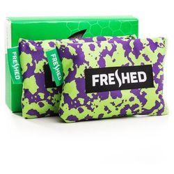 FRESHED - pochłaniacz wilgoci i zapachów do butów odzieży plecaków zielono-fioletowe moro