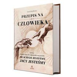 """""""Przepis na człowieka"""" – Dawid Myśliwiec (opr. twarda)"""
