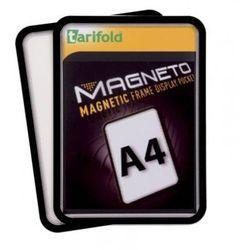 Kieszeń magnetyczna A4, 2 szt., czarna